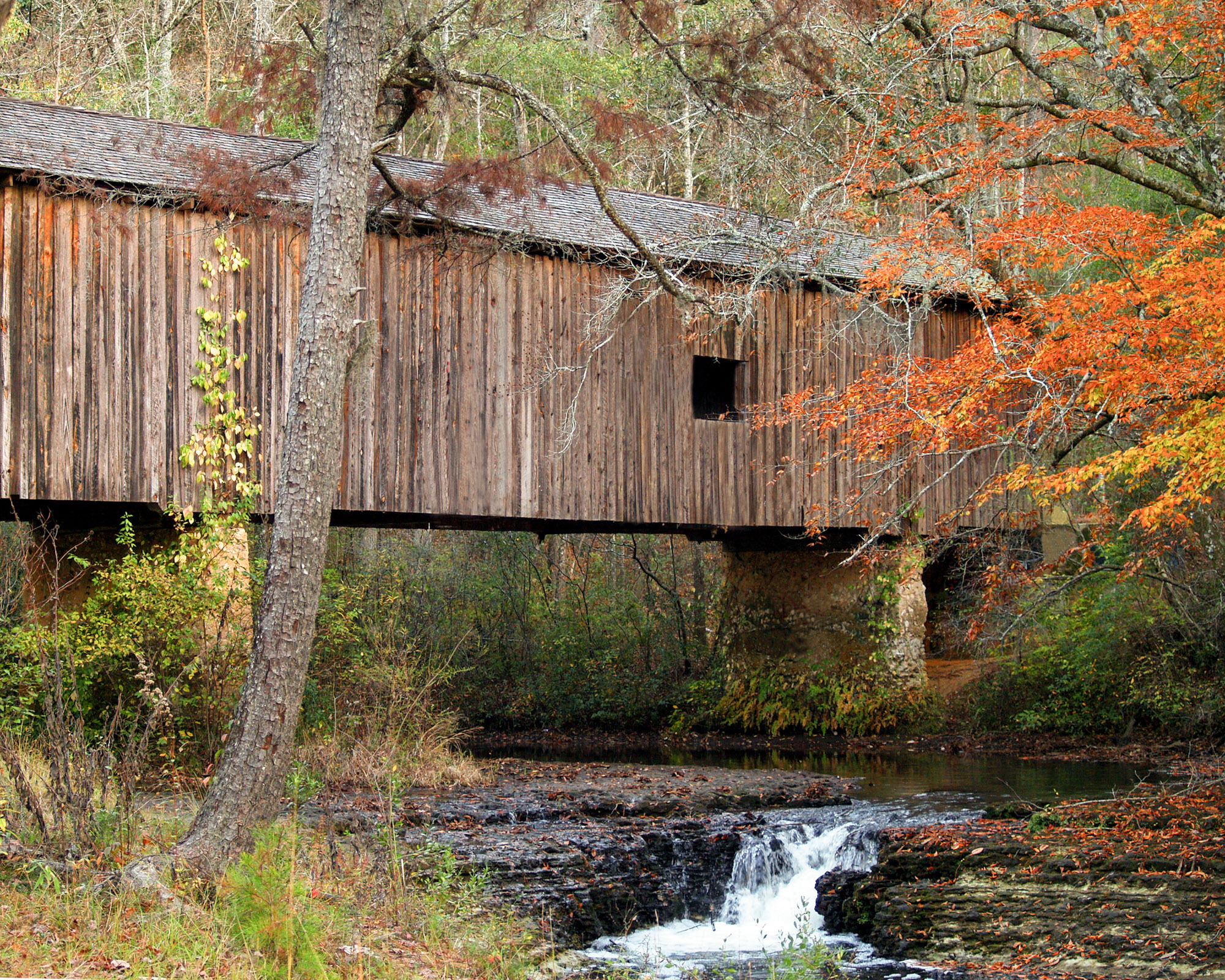 Visit our #1 attraction! Located nine miles southwest of Blakely, in Early County, the Coheelee Creek Covered Bridge is the southernmost covered bridge in the United States. It was built in 1891 and is listed on the National Register of Historic Places.