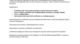blakely-georgia-City-Marshal-job-opening